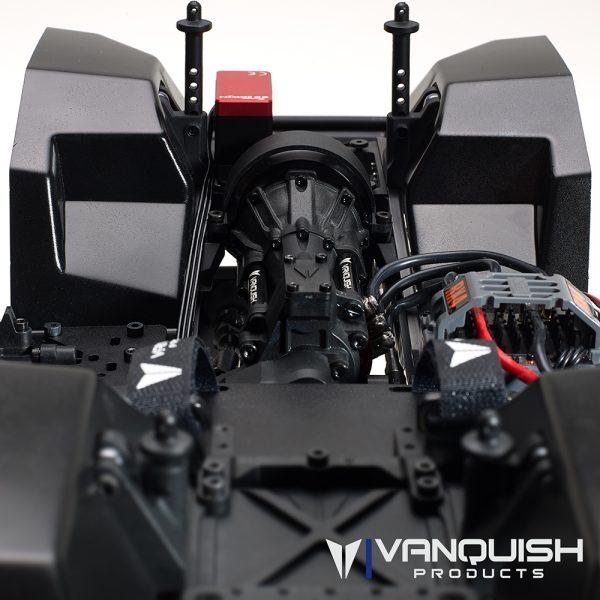 Vanquish Products VS4-10 Pro Rock Crawler Kit w/Origin Half Cab Body (Clear)