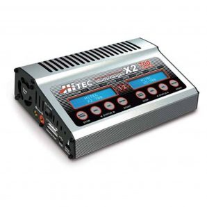 Hitec Multiplex X2 700 DC Dual Port Charger with 700 Watts Per Channel HRC44239