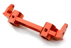 Integy 40mm Front Bumper Mount SCX-10 Crawler Red INTC26731RED