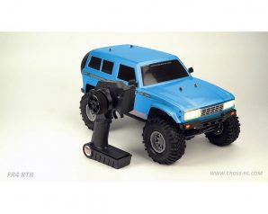 Cross RC FR4 1/10 Demon 4x4 RTR Crawler (Blue)