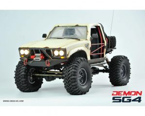 Cross RC Demon SG4B 1/10 4x4 Crawler Kit w/Hard Body & Aluminum Wheels