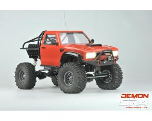 Cross RC Demon SR4B 1/10 4x4 Crawler Kit w/Lexan Body & Aluminum Wheels