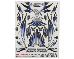 "Firebrand RC Concept Phoenix Decal (Blue) (8.5x11"")"