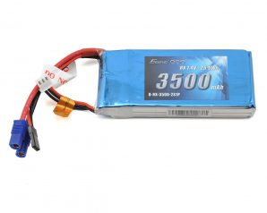 Gens Ace 2S LiPo Receiver Battery Pack (7.4V/3500mAh)