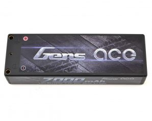 Gens Ace 2s LiPo Battery Pack 50C w/4mm Bullet (7.4V/7000mAh)