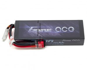 Gens Ace 2s LiPo Battery Pack 70C w/T-Syle Connector (7.4V/7200mAh)
