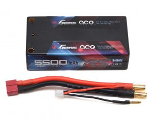 Gens Ace 2S LiHV 100C Shorty LiPo Battery (7.6V/5500mAh)