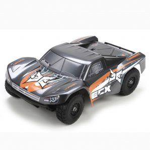 ECX 1/18 Torment 4WD SCT RTR, Gray/Orange ECX01001T1