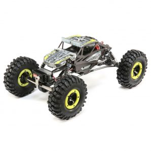 ECX 1/18 Temper 4WD Gen 2 Brushed RTR, Yellow ECX01015T1