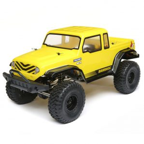 ECX 1/12 Barrage Gen2 1.55 4WD Scaler Brushed RTR: Yellow ECX01013T2