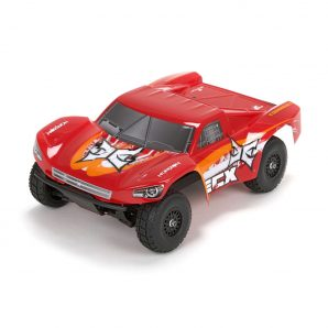 ECX 1/18 Torment 4WD SCT RTR, Red/Orange ECX01001T2