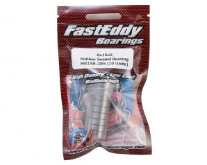 FastEddy 8x15x5mm Rubber Sealed Bearing (10)