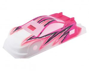 Bittydesign JP8HR Pre-Painted 1/10 Touring Car Body (190mm) (Wave/Pink)