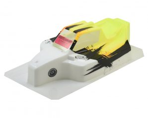 "Bittydesign ""Force"" Mugen MBX8/MBX7 1/8 Pre-Painted Buggy Body (Dirt/Yellow)"