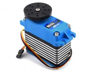 Hitec D845WP Waterproof Monster Torque Steel Gear Servo (High Voltage)