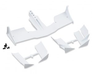 Protoform 1/10 V2 F1 Front Wing (White)