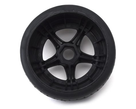 2 17mm Hex 1//7 dBoots Hoons Rear 107 White Pre-Mounted Belted Tires